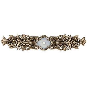 [イマック] imac ヘアバレッタ フラワー ゴールド フランス製 149337