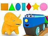 Best 幼児のためのボール - トレイン、恐竜のダイノと一緒に図形を学ぼう Review