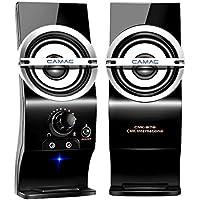 CAMAC PCスピーカー USBスピーカー パソコン/テレビ/スマホ適用 高音質 speaker