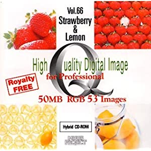 High Quality Digital Image for Professional Vol.66 Strawberry & Lemon