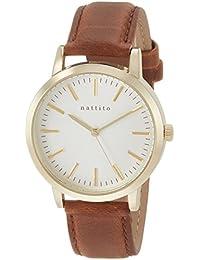[フィールドワーク]Fieldwork 腕時計 ファッションウォッチ ダニー アナログ 革ベルト ブラウン QKS136-5