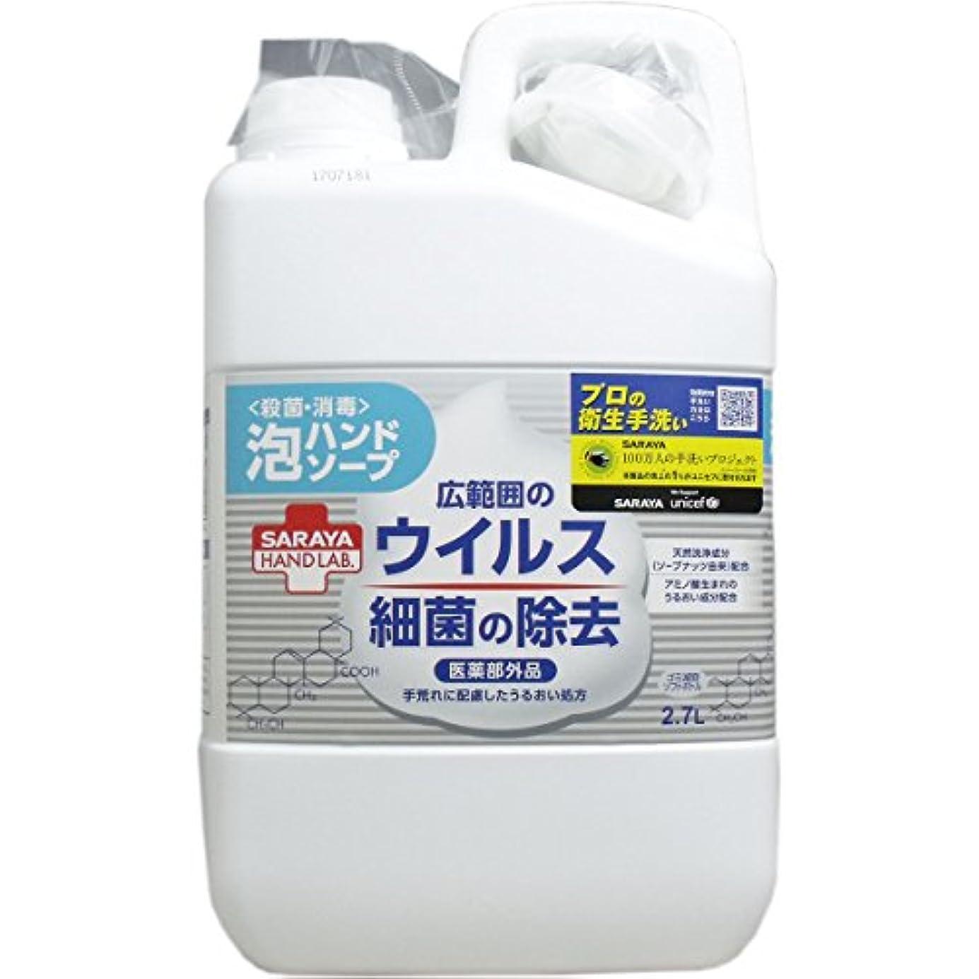 抑止する無臭かなりハンドラボ 薬用泡ハンドソープ 詰替用 2.7L(単品)