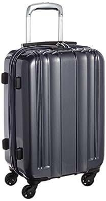 [エー・エル・アイ・プラス] A.L.I+ 【Amazon.co.jp限定】 スーツケース 54.5cm 28L 2.6kg 機内持込サイズ TSAロック搭載(カーボンネイビー)