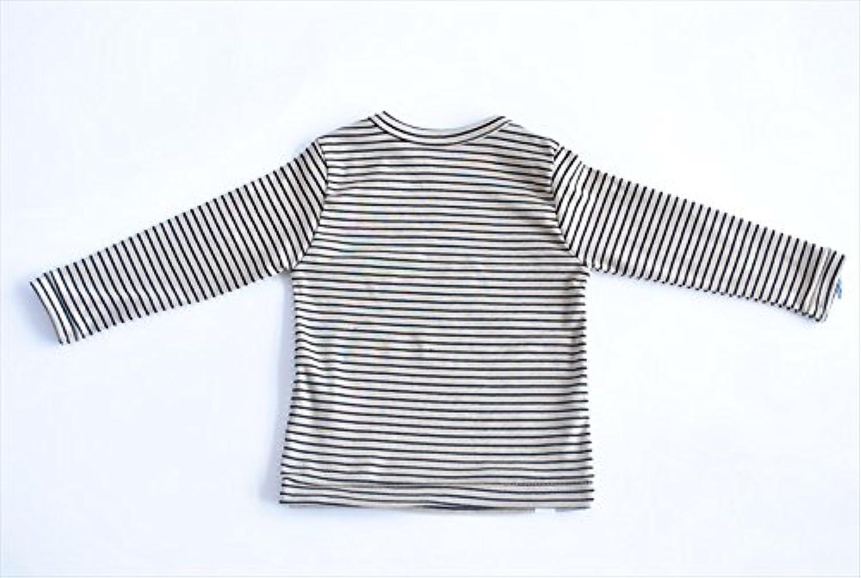 (アピーベビー)apibaby ベビー キッズ 長袖 Tシャツ ストレッチクロス Basic Collection 90cm GY