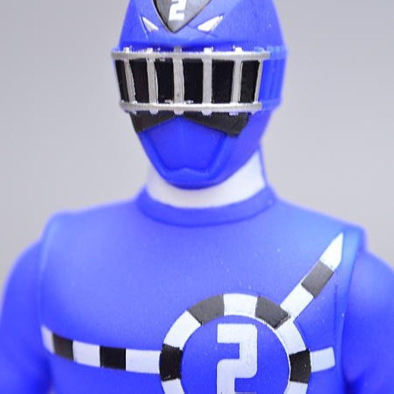 ソフビヒーロー 烈車戦隊トッキュウジャー 【2.トッキュウ2号(ブルー)】(単品)