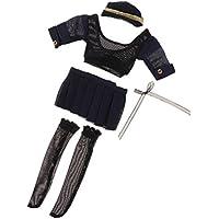 Lovoski 人形用 1/6スケール 女性 スチュワーデス ユニフォーム 12インチ アクションフィギュアボディ用 装飾
