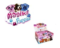 マギキ14048子犬コレクタブルフィギュア - 16のブラインドバッグを展示