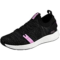 PUMA Women's NRGY Neko Engineer Knit WN's Athletic & Sports Shoes, Puma Black-Iron Gate-Orchid, 7 US