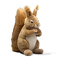 Carter the Squirrel | 9 Inch Stuffed Animal Plush | By Tiger Tale Toys 【You&Me】 [並行輸入品]