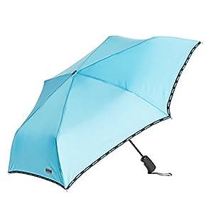 [アウトドアプロダクツ] Outdoor Products 自動開閉 折りたたみ傘 無地 全5色 6本骨 54cm (男女兼用) 10002556 ブルー 日本 (日本サイズS-M相当)