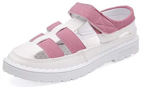 e52b5cfe62573 [シスーン] カジュアル かわいい サンダル スリッパ ビーチ ヒール 美脚 軽量 歩きやすい スポーツ 靴 マジック