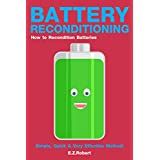 Battery Reconditioning: How to Recondition Batteries, Dead Batteries, a Car Battery, Old Batteries at Home (English Edition)