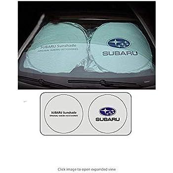 Ephvan 150×70センチ車の窓サンシェード車のフロントガラスバイザーカバーブロックフロントウィンドウサンシェードuv保護車の窓フィルム (fit subaru)