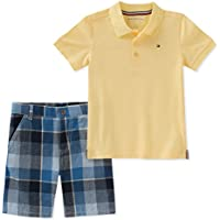 Tommy Hilfiger Baby-Boys 2 Pieces Polo Shorts Set Shorts Set