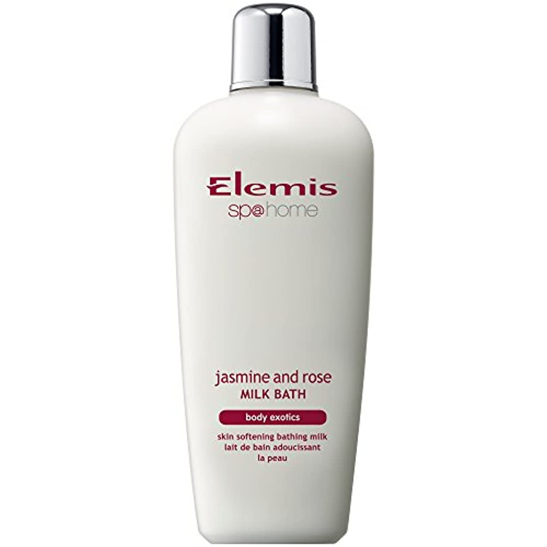 ヒューズ支配する余分なエレミスのジャスミン、ローズミルクバスの400ミリリットル (Elemis) - Elemis Jasmine And Rose Milk Bath 400ml [並行輸入品]
