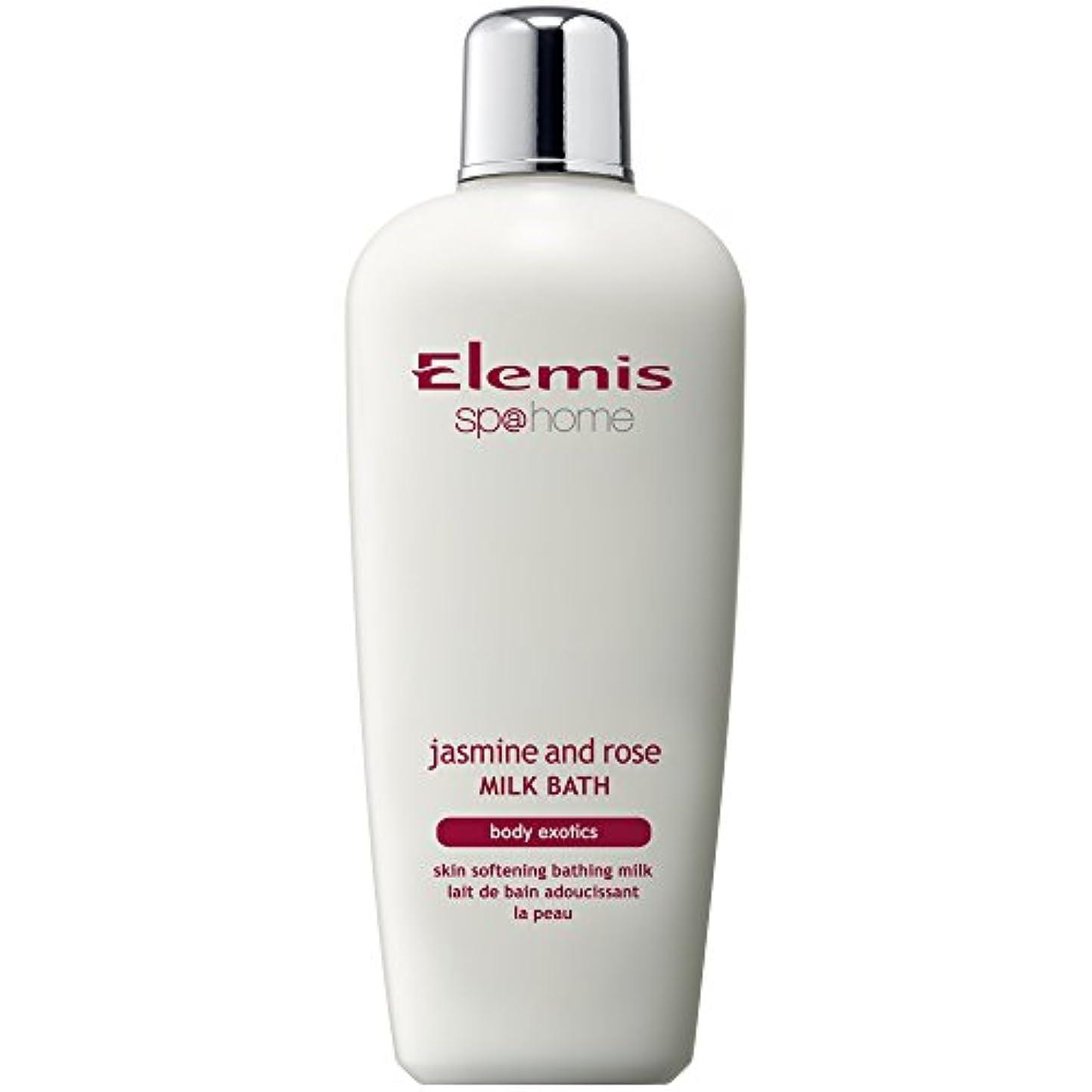 とらえどころのない恐れカナダエレミスのジャスミン、ローズミルクバスの400ミリリットル (Elemis) - Elemis Jasmine And Rose Milk Bath 400ml [並行輸入品]