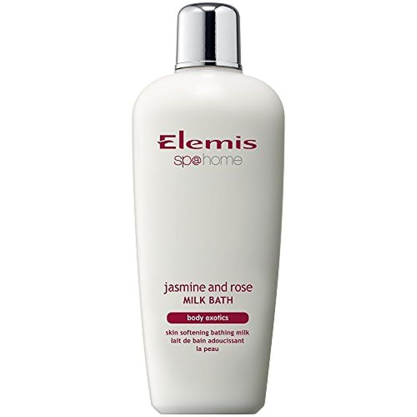 の中で一貫性のない去るエレミスのジャスミン、ローズミルクバスの400ミリリットル (Elemis) - Elemis Jasmine And Rose Milk Bath 400ml [並行輸入品]