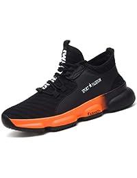 [SUADEX] 安全靴 スニ一カ一 作業靴 軽量 あんぜん靴 黒 作業 靴 工事現場 通気性 鋼先芯 耐摩耗 防刺 耐滑 ワークシューズ セーフティーシューズ