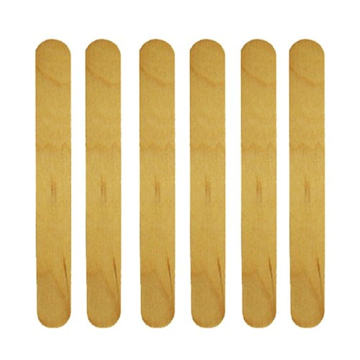 大邸宅織る指定使い捨て【木ベラ/ウッドスパチュラ】 業務用6枚セット