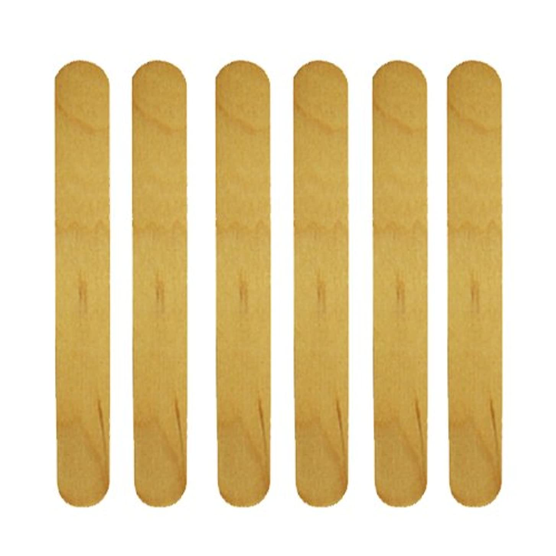 草サーキュレーションよく話される使い捨て【木ベラ/ウッドスパチュラ】 業務用6枚セット