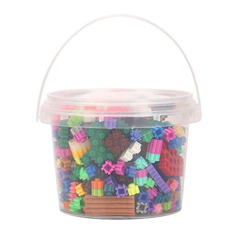 ビルブリックおもちゃプラスチックセーフな教育学習男の子のためのインテリジェントスタッキングゲーム女の子賞ギフト