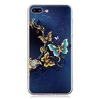 8ca867f9a5 iPhone7 Plus ケース / iPhone8 Plusケース シリコン ソフト, Lomogo アイフォン7Plus / 8Plus ケース
