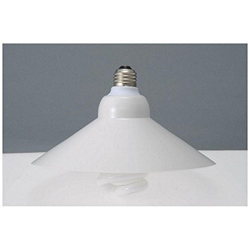 オーム エコなボール傘 電球形蛍光灯 傘セット スパイラル形 E26 100形相当 電球色 カサ+EFD25EL/21/KS OHM 04-7320