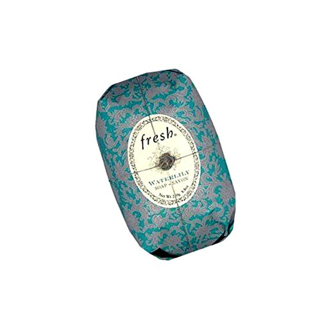 はっきりしない入り口拍手するFresh フレッシュ Waterlily Soap 石鹸, 250g/8.8oz. [海外直送品] [並行輸入品]