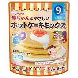 和光堂 やさしいホットケーキミックス プレーン 100g×24袋入×(2ケース)