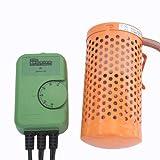 アサヒ 電子サーモスタット+ミニペットヒーター30W 2点保温セット
