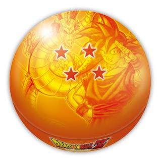 ドラゴンボールZ 四星球 ボール缶 丸コーンパフチョコレート25g入 (オレンジ)