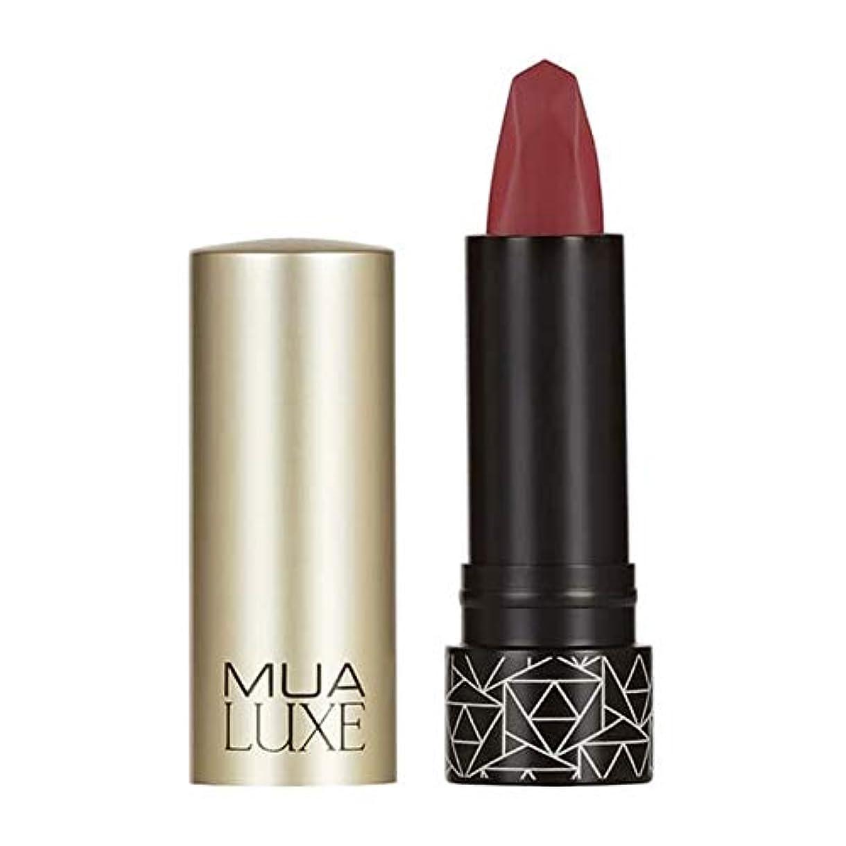 同僚製油所共和党[MUA] Muaラックスベルベットマットリップスティック#5 - MUA Luxe Velvet Matte Lipstick #5 [並行輸入品]