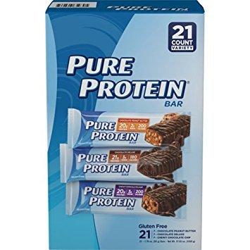 Pure Protein プロテインバー【21本】バラエティパック Variety Pack B01MTBF7OQ 1枚目
