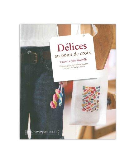 MARABOUT 「DELICES AU POINT DE CROIX 」 クロスステッチ図案集-フランス語