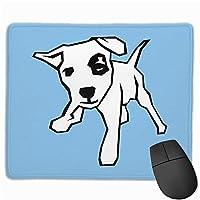 犬の骨の国境マウスパッド