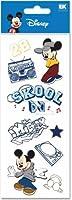 ディズニーミッキーマウス音楽Skool Craze 2Dimensionalスクラップブックステッカー