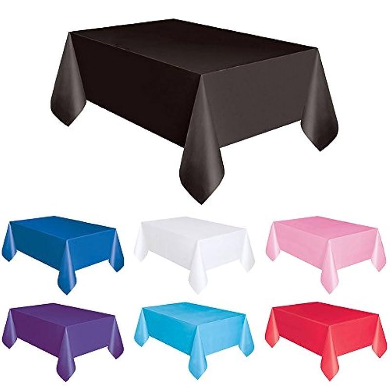 歌手ユニークなカタログPROKTH 4枚テーブルクロス 使い捨て 長方形 テーブルカバー クリスマスパーティー用品 135 * 270 cm クリスマス/結婚式/誕生日/ハロウィーン/パーティーに適用 …