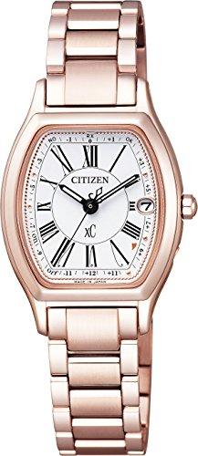 [シチズン]CITIZEN 腕時計 xC クロスシー エコ・ドライブ 電波時計 サクラピンク ティタニアライン ハッピーフライトシリーズ ES9354-51A レディース