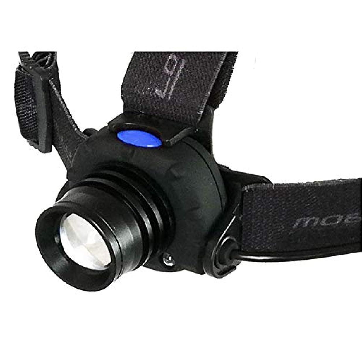 宝石困難持っているモブリロ(MOBRILLO) ヘッドライト 乾電池式 防塵防水仕様 250ルーメン モーションセンサー付属 MB-B250F