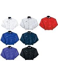 アシックス(asics) ウオーマージャケット OWW702 45 ブルー M