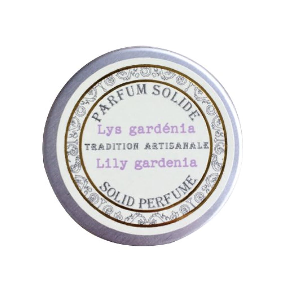くさびオーバーランごちそうSenteur et Beaute(サンタールエボーテ) フレンチクラシックシリーズ 練り香水 10g 「リリーガーデニア」 4994228023070