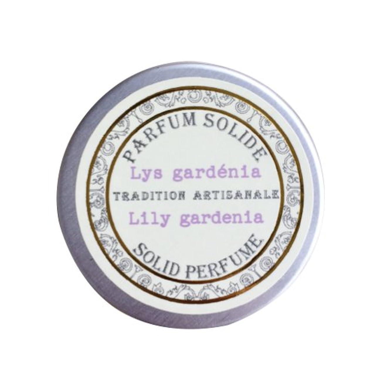 ブローホール勉強する舌Senteur et Beaute(サンタールエボーテ) フレンチクラシックシリーズ 練り香水 10g 「リリーガーデニア」 4994228023070