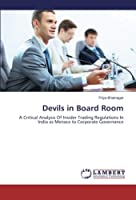 Devils in Board Room