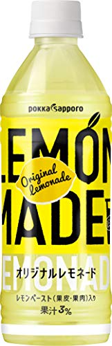 LEMON MADE オリジナルレモネード 500ml ×24本