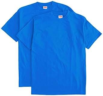 (ヘルスニット)Healthknit 2P-Pac Crew S/S Sleeve #2-288  Royal M Tシャツ