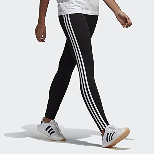 adidas Originals (アディダス オリジナルス) 3STRIPES TIGHTS LEGGINGS スリーストライプ レギンス CE2441 レディース タイツ ブラック Lサイズ
