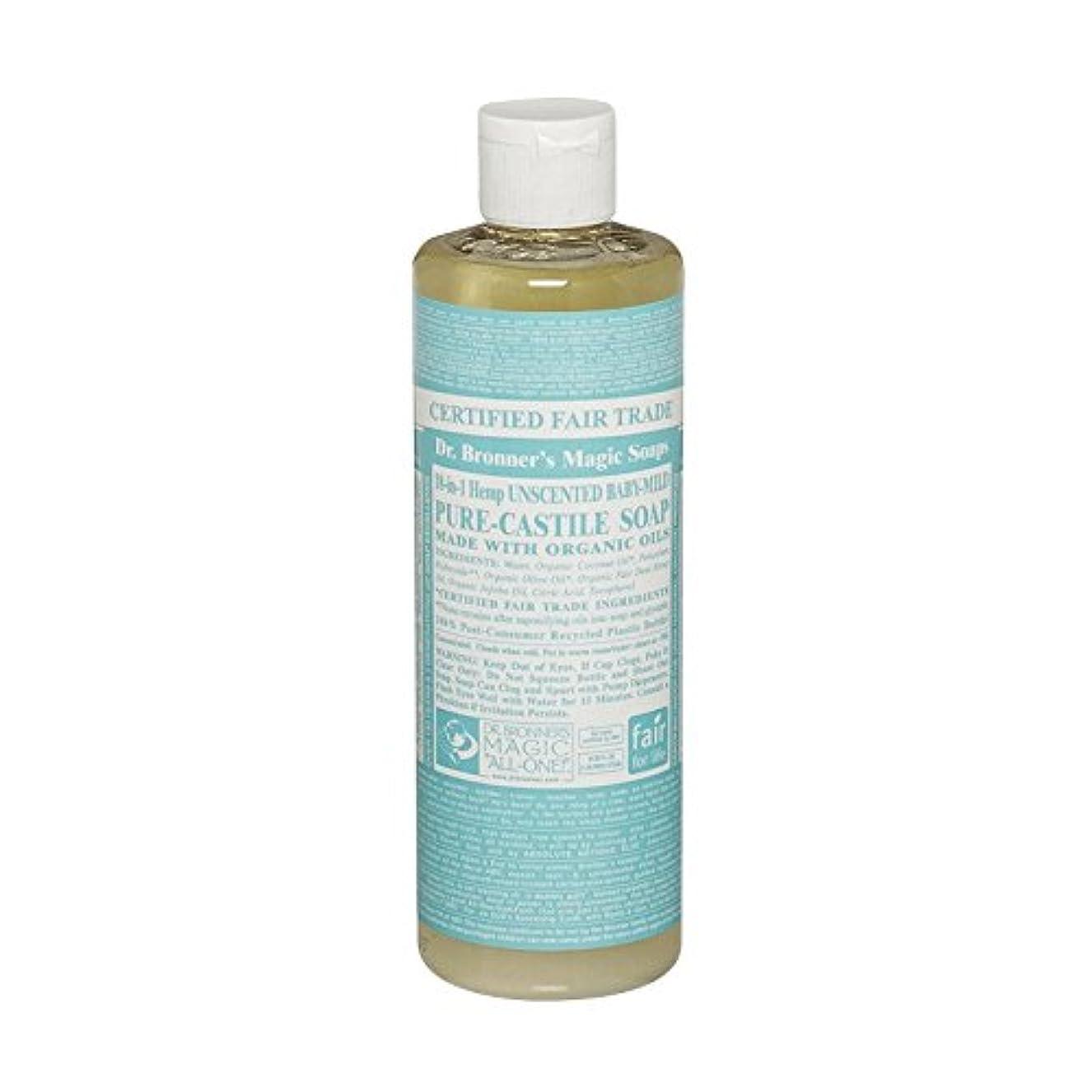 忠実に支配するタンクDr Bronner Unscented BabyMild Pure Castile Soap (Pack of 6) - Drのブロナー無香Babymild純粋なカスティーリャ石鹸 (x6) [並行輸入品]