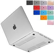 MS factory MacBook Pro 13 Late 2016 ケース カバー マックブック プロ 13.3 インチ Touch Bar搭載/A1706 Touch Barなし/A1708 対応 ハードケース 全13色カバー RMC series マット加工 クリアホワイト 半透明 RMC-MBP13C-MCL