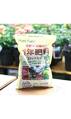 長野ローズ 1年肥料 1kg (バラの肥料 バラ バラ苗 肥料 ばら 薔薇)