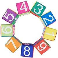 赤ちゃんゲームStartsグラブとスタックブロックJigsaw Puzzlesアクションフィギュアおもちゃfor Toddlers 9ピース/セット